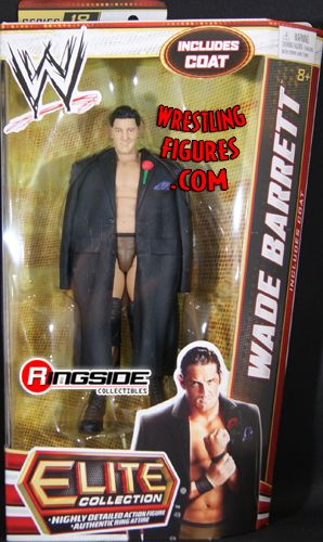Wade Barrett  WWE Elite 18  Ringside Collectibles