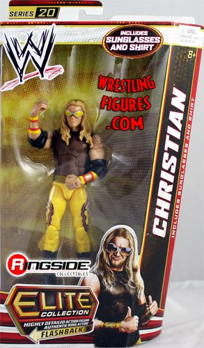 Christian WWE Elite 20 WWE Toy Wrestling Action Figure by
