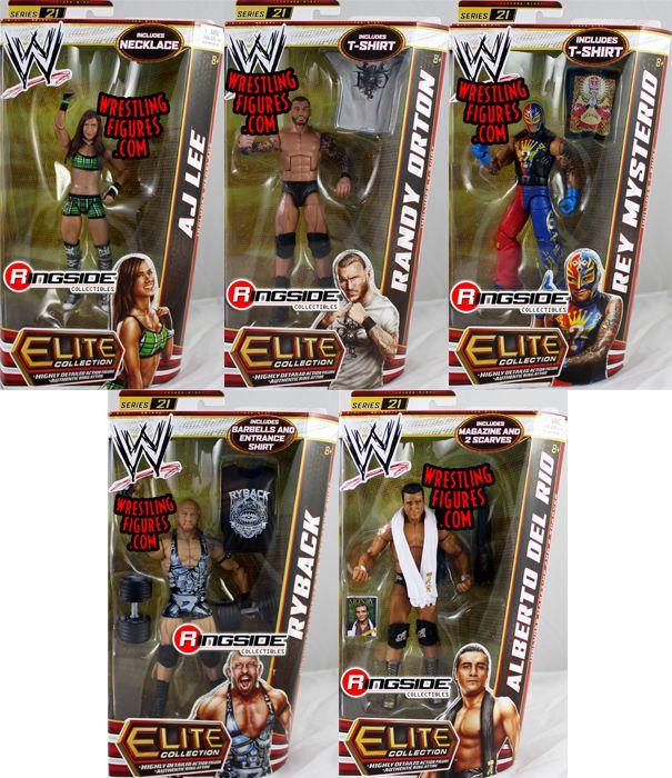 WWE Elite 21  Speical Set of 5 No Honky Tonk Man