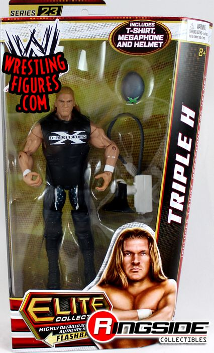 Triple H HHH WWE Elite 23 WWE Toy Wrestling Action