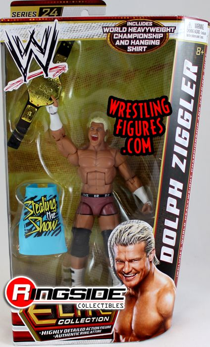 Dolph Ziggler  WWE Elite 24  Ringside Collectibles