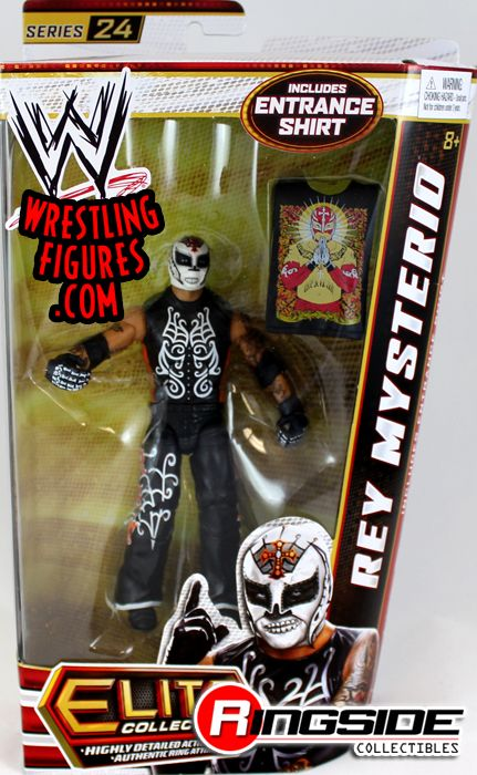 Rey Mysterio  WWE Elite 24  Ringside Collectibles