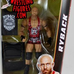 Wheelchair Man Bar Chair Seat Covers Ryback- Wwe Elite 24 Toy Wrestling Action Figure By Mattel