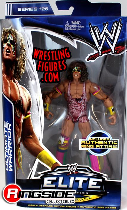 Ultimate Warrior WWE Elite 26 WWE Toy Wrestling Action