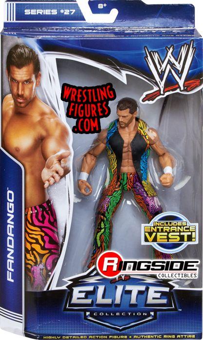 Fandango  WWE Elite 27 WWE Toy Wrestling Action Figure by