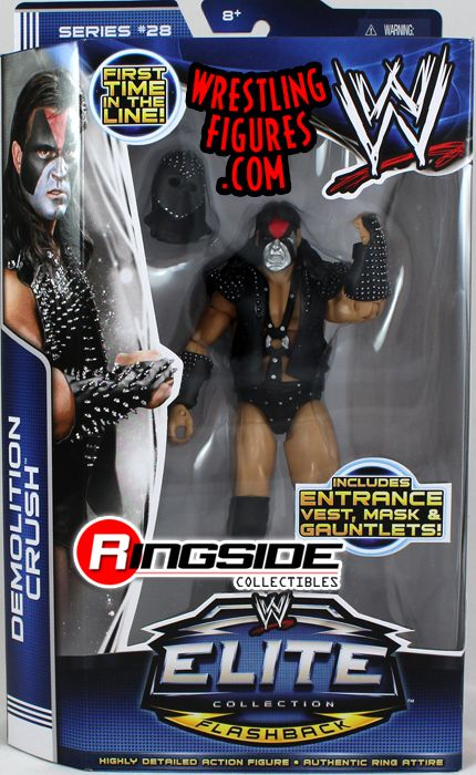 Demolition Crush  WWE Elite 28 WWE Toy Wrestling Action