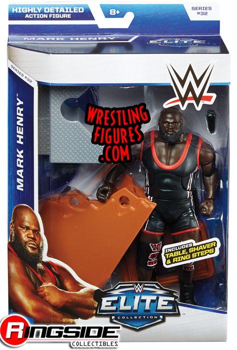 Mark Henry  WWE Elite 32  Ringside Collectibles