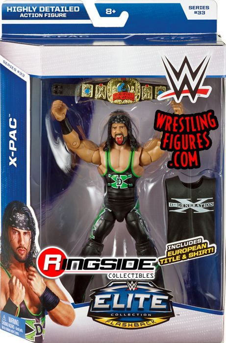 XPac  WWE Elite 33 WWE Toy Wrestling Action Figure by Mattel
