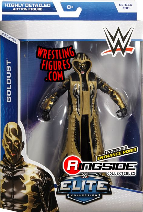 Goldust  WWE Elite 36 WWE Toy Wrestling Action Figure by Mattel