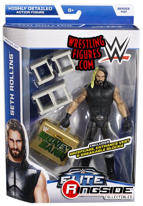 Seth Rollins WWE Elite 37 WWE Toy Wrestling Action Figure