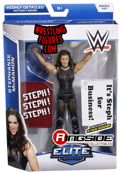 Stephanie McMahon WWE Elite 37 WWE Toy Wrestling Action