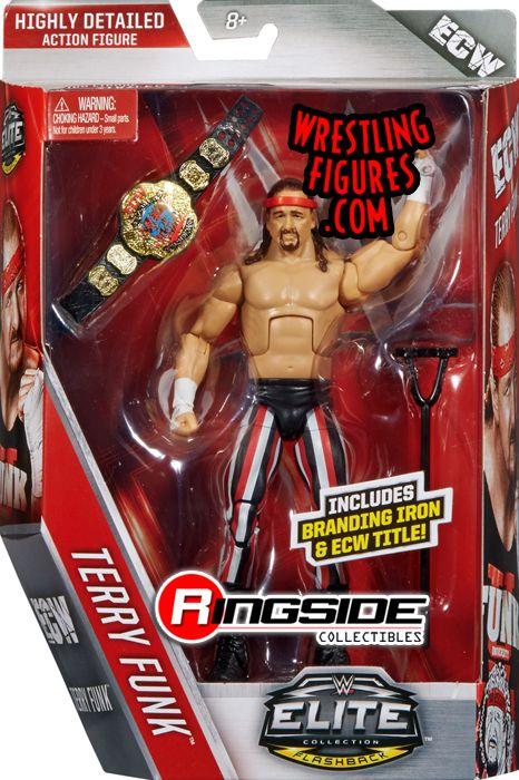 Terry Funk  WWE Elite 41 WWE Toy Wrestling Action Figure