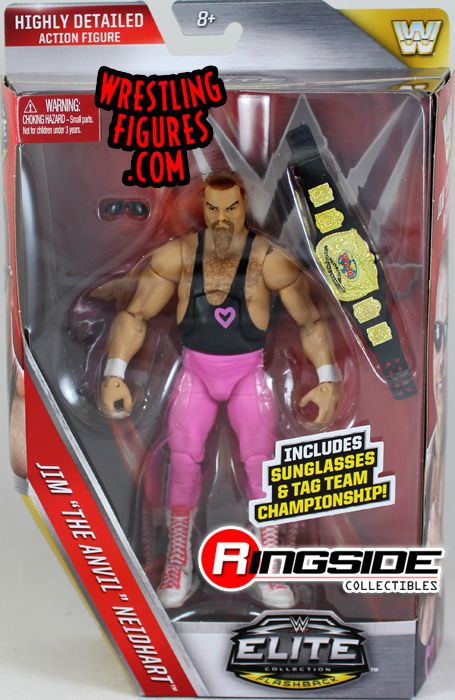 folding chairs for sale lcs gaming chair jim neidhart (hart foundation) - wwe elite 43 toy wrestling action figure by mattel!