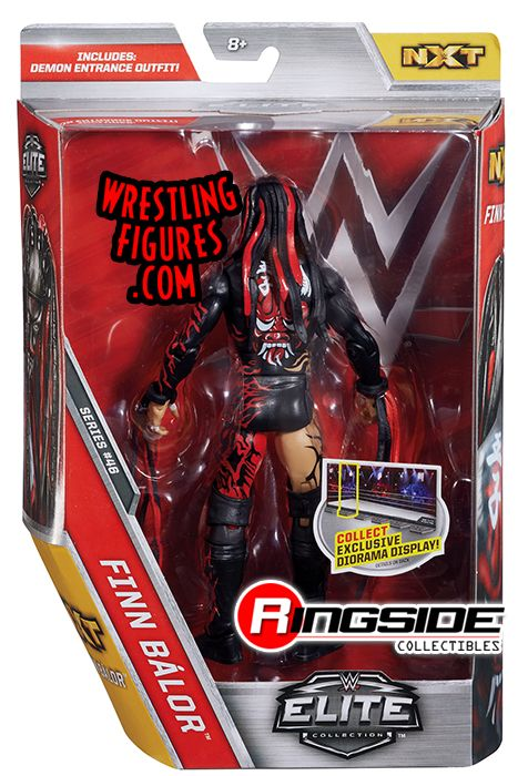 pre tables and chairs grey club chair finn balor (demon) - wwe elite 46 toy wrestling action figure by mattel!