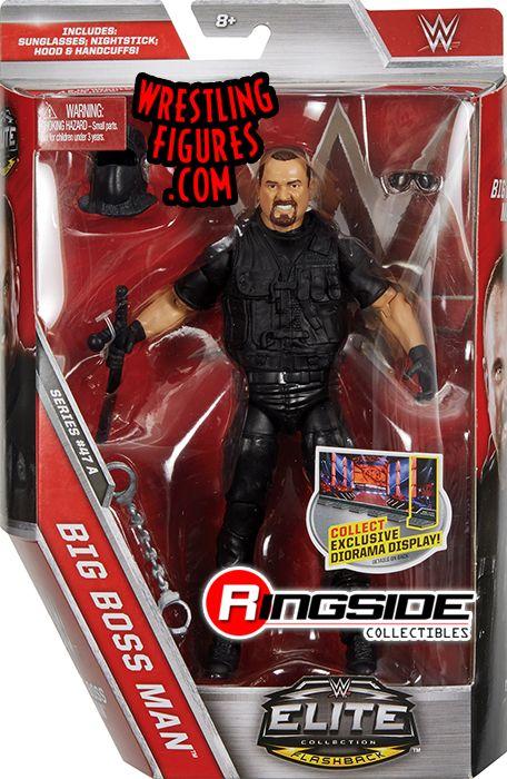 Big Bossman  WWE Elite 47 WWE Toy Wrestling Action Figure