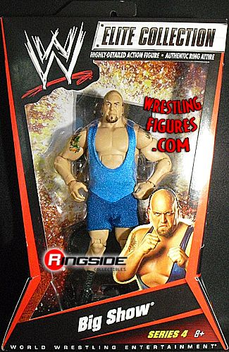 Big Show  WWE Elite 4  Ringside Collectibles