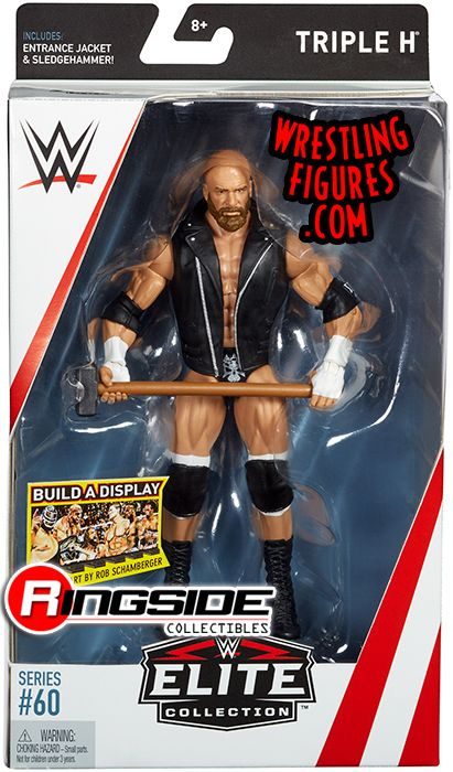 Triple H HHH  WWE Elite 60 WWE Toy Wrestling Action