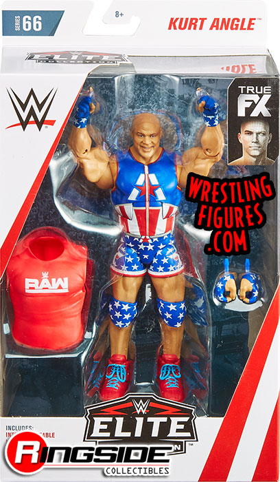 Kurt Angle  WWE Elite 66 WWE Toy Wrestling Action Figure