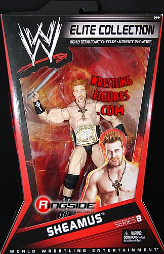 Sheamus  WWE Elite 8  Ringside Collectibles