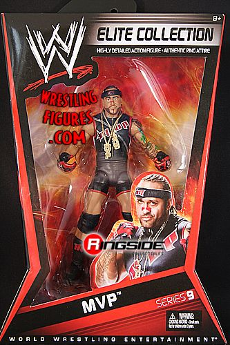 MVP  WWE Elite 9  Ringside Collectibles