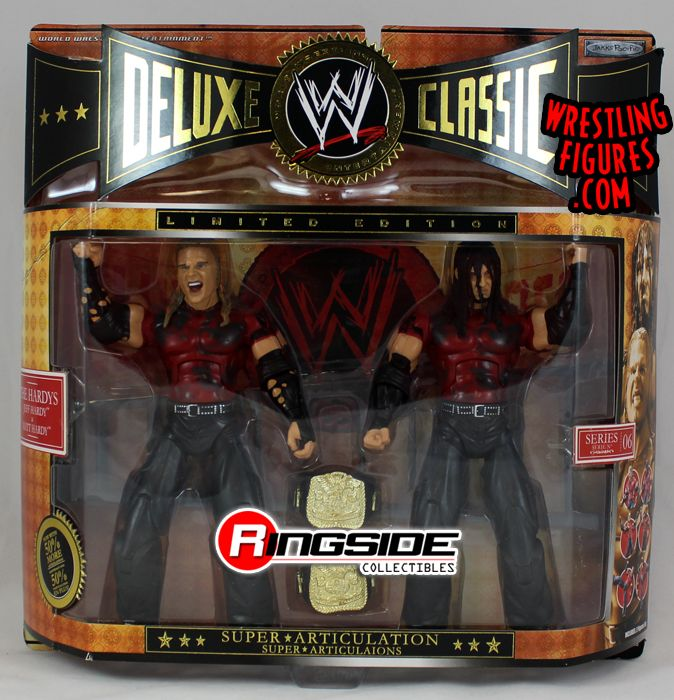 pre tables and chairs sling chair replacement fabric canada the hardy's (jeff & matt) - wwe classic deluxe limited edition | ringside collectibles