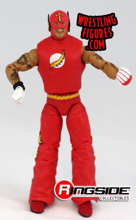 Loose Figure  Flash Rey Mysterio  Ringside Collectibles
