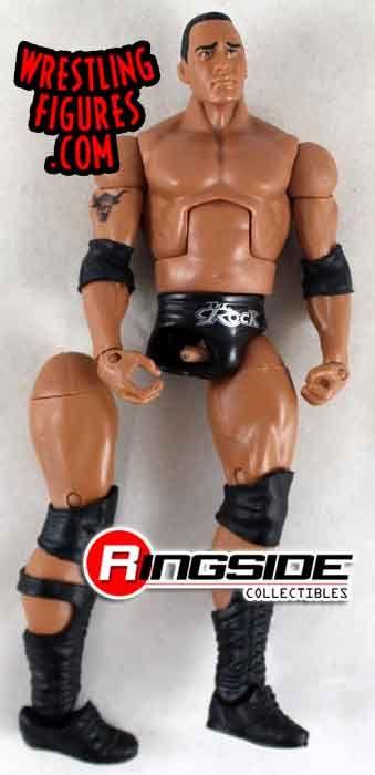 BROKEN Loose Figure  The Rock  WWE Elite 475 BROKEN