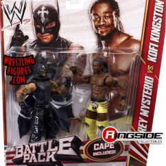 Toys R Us Chairs White Windsor Dining Kofi Kingston & Rey Mysterio- Wwe Battle Packs 23 Toy Wrestling Action Figures By Mattel