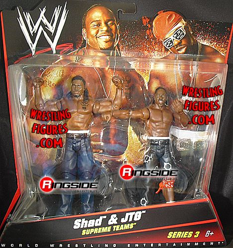 Cryme Tyme Shad  JTG  WWE 2Packs 3  Ringside Collectibles