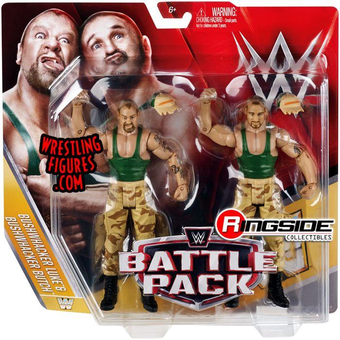 Bushwhackers Luke  Butch  WWE Battle Packs 40 WWE Toy
