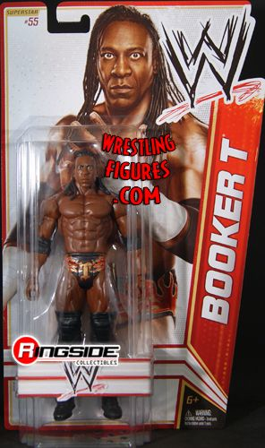 Booker T  WWE Series 22  Ringside Collectibles