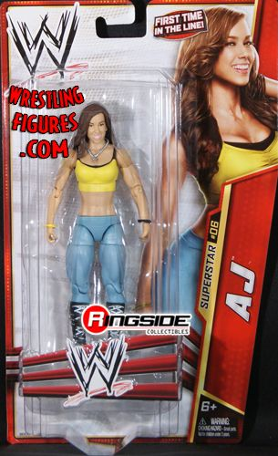 AJ Lee  WWE Series 24  Ringside Collectibles
