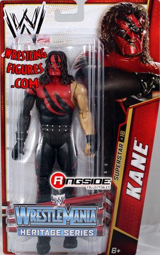 Kane  WWE Series 26 WrestleMania Heritage  Ringside