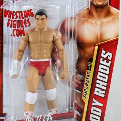 Wheelchair Ebay High Back Wicker Chair Cody Rhodes - Wwe Series 27 | Ringside Collectibles