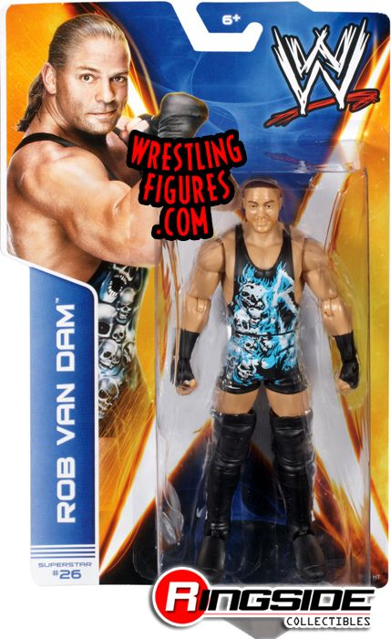 Rob Van Dam RVD  WWE Series 39 WWE Toy Wrestling Action