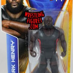 Retro Tables And Chairs Slipcover For Chair A Half Mark Henry - Wwe Series 43 Toy Wrestling Action Figure By Mattel