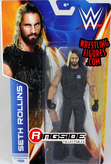 pre tables and chairs kaboost portable chair booster seth rollins - wwe series 44 toy wrestling action figure by mattel