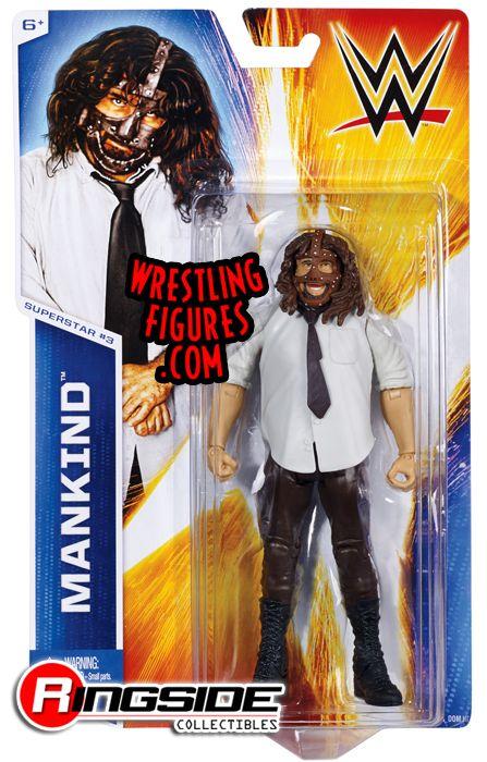 Mankind Mic Foley  WWE Series 45 WWE Toy Wrestling