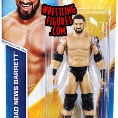 Wheelchair Japan Diy Universal Chair Covers Bad News Barrett (wade Barrett) - Wwe Series 46 Toy Wrestling Action Figure By Mattel