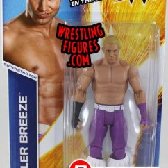 Cool Chairs For Girls Swivel Chair Ethan Allen Tyler Breeze - Wwe Series 53 Toy Wrestling Action Figure By Mattel