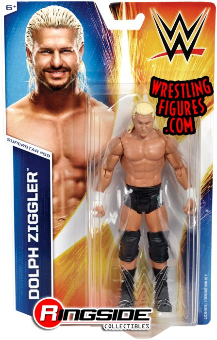 Dolph Ziggler  WWE Series 54 WWE Toy Wrestling Action