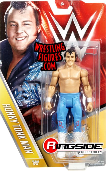 pre tables and chairs dining room with caning honky tonk man - wwe series 59 toy wrestling action figure by mattel!