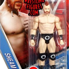 Kid Table And Chairs Dining Chair Seat Cushions Sheamus - Wwe Series 59 Toy Wrestling Action Figure By Mattel!