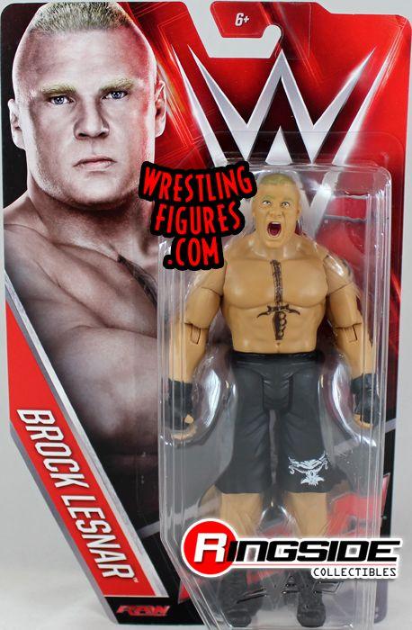 Brock Lesnar  WWE Series 60 WWE Toy Wrestling Action