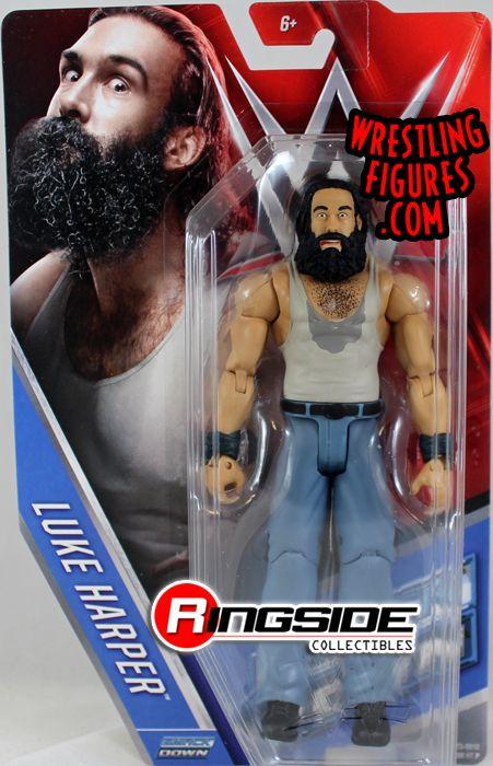 Luke Harper  WWE Series 60 WWE Toy Wrestling Action