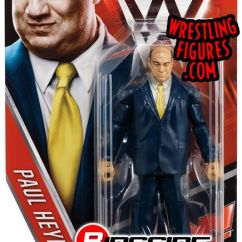 Cool Chairs For Girls Swimways Premium Canopy Chair Paul Heyman - Wwe Series 63 Toy Wrestling Action Figure By Mattel!