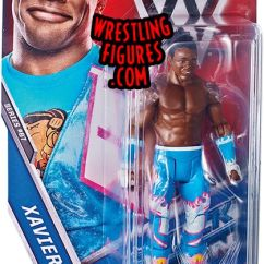 Wrestling Chairs For Sale Serta Brown Leather Office Chair Xavier Woods (new Day) - Wwe Series 67 Toy Action Figure By Mattel!