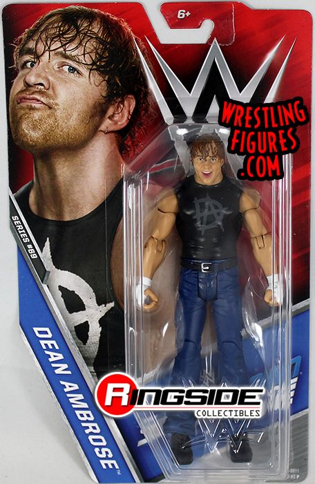Dean Ambrose  WWE Series 69 WWE Toy Wrestling Action