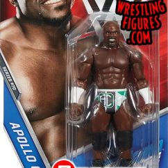 Cool Chairs For Girls Eams Lounge Chair Apollo Crews - Wwe Series 70 Toy Wrestling Action Figure By Mattel!