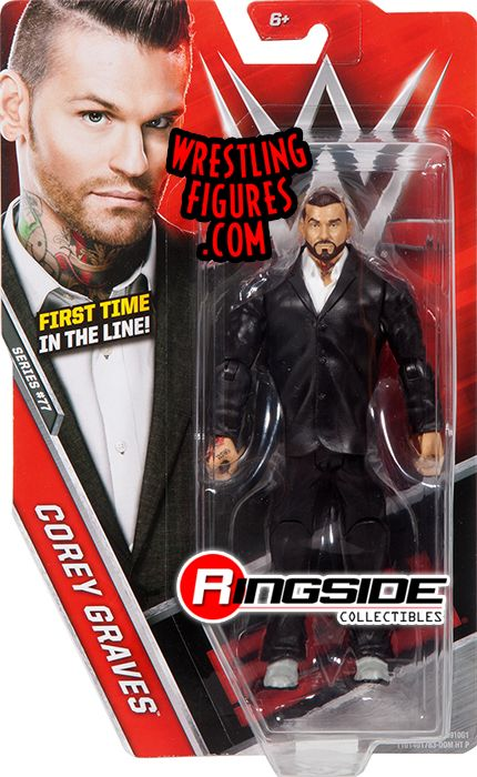 Corey Graves  WWE Series 77 WWE Toy Wrestling Action